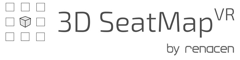 3D SeatMapVR by Renacen Logo